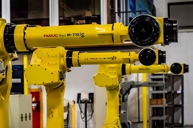 Industrial FANUC Robot by RobotWorx