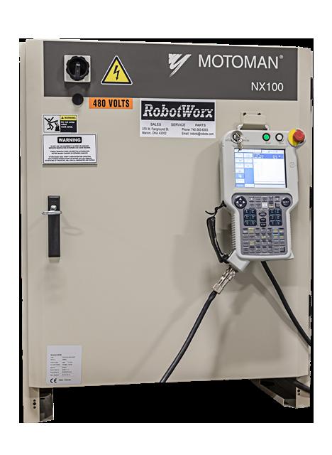 robotworx motoman nx100 controller rh robots com Motoman Px2050 Range of Motion Motoman Robots