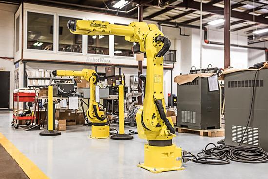Industrialised Robotic arm