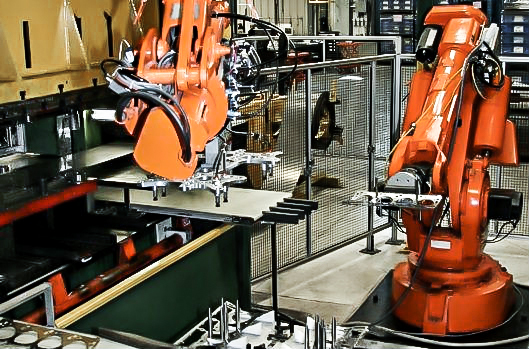 Automate with stamping robots