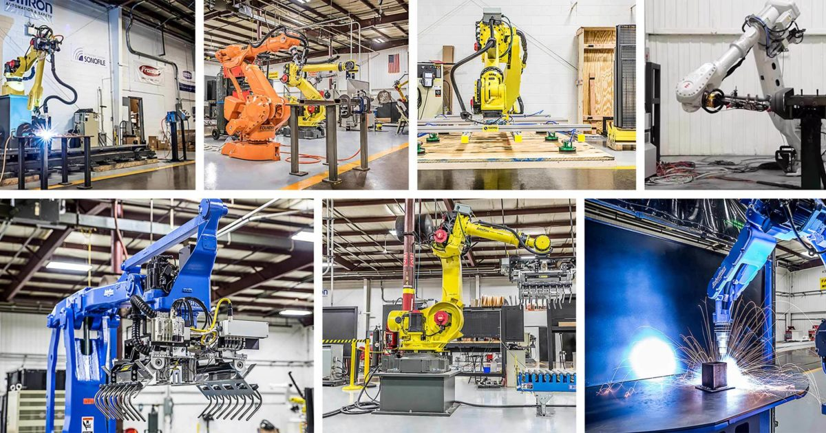 RobotWorx - Industrial Robot Applications