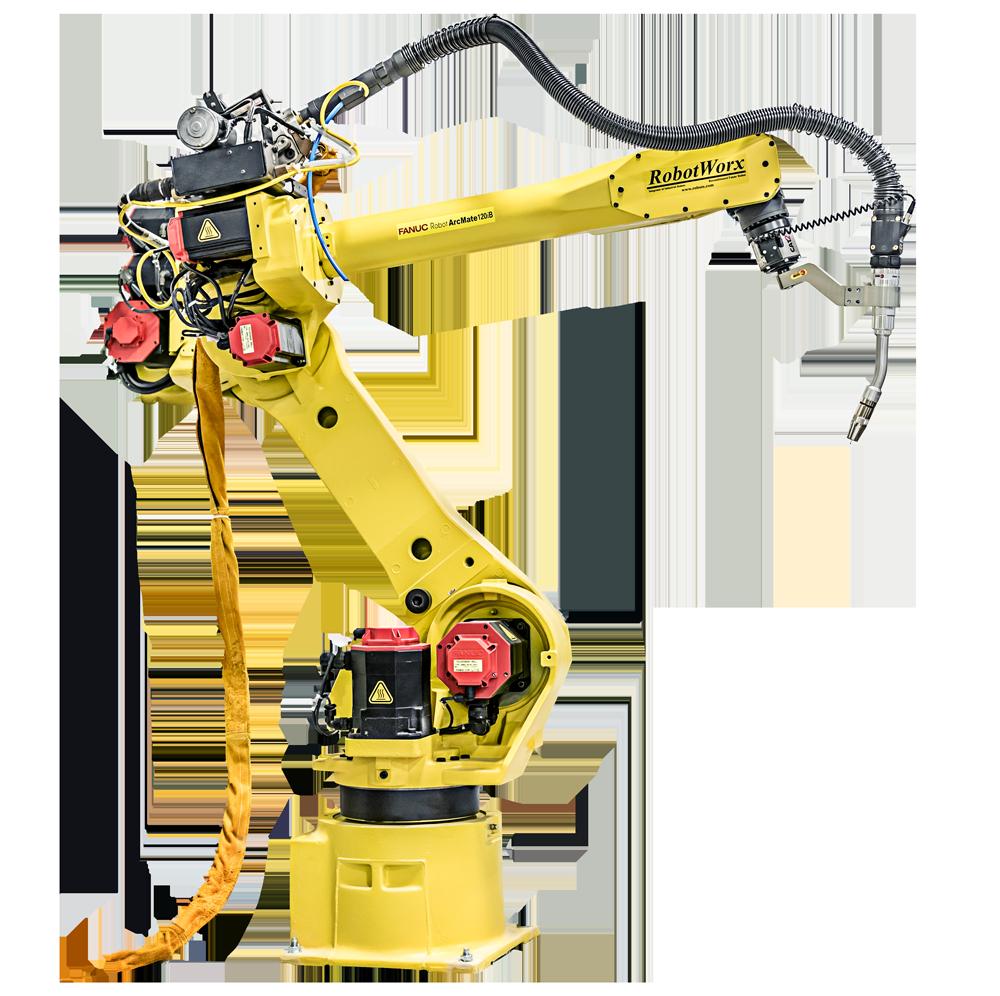 robotworx fanuc arc mate 120ib rh robots com