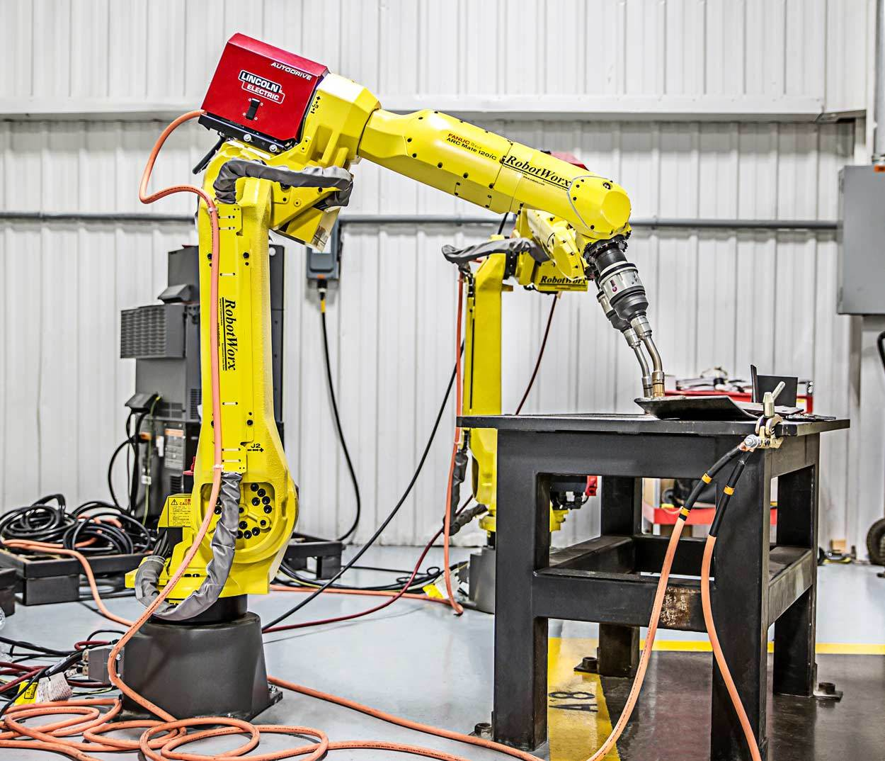 robotworx fanuc arc mate 120ic rh robots com