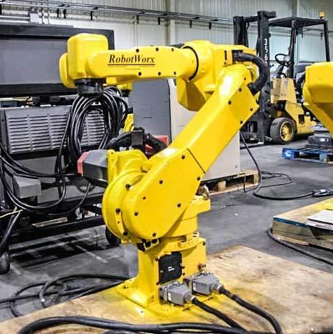 RobotWorx - FANUC ARC Mate 100i