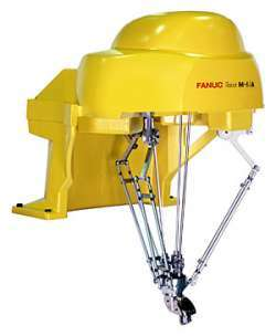 FANUC M-1ia Robot is great for electronic automation