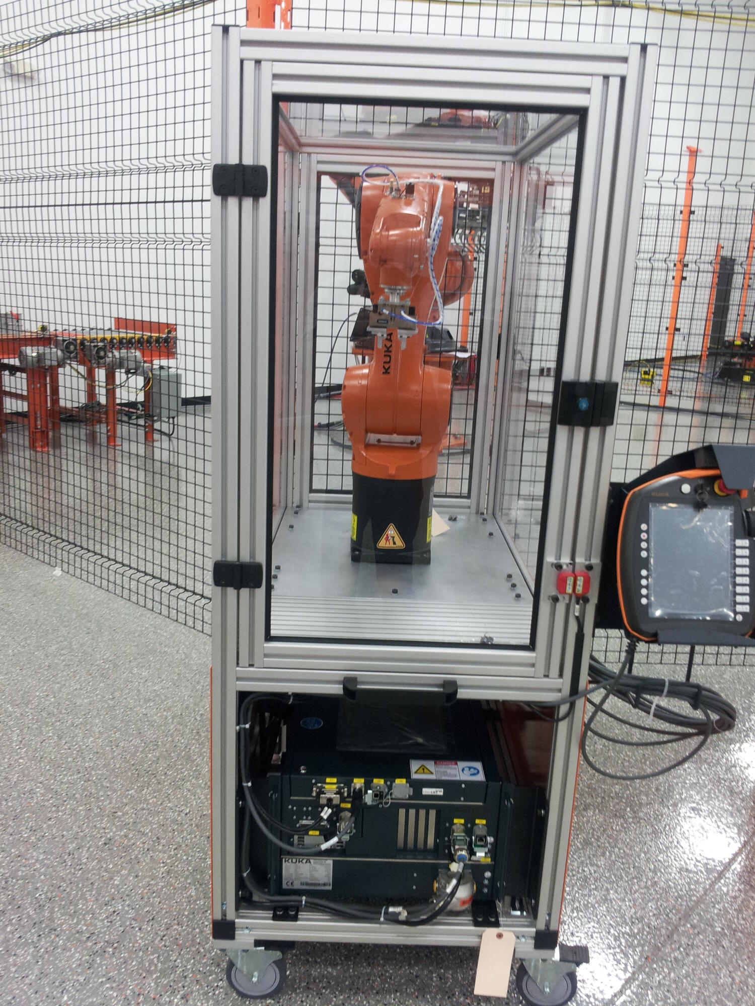 Kuka Burton Educational Cart 2