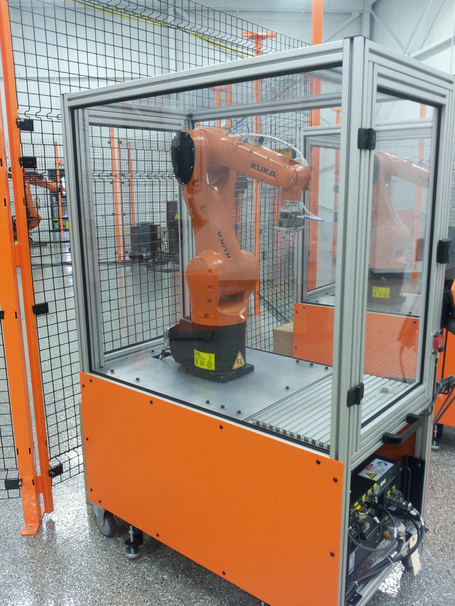 Kuka Burton Educational Cart