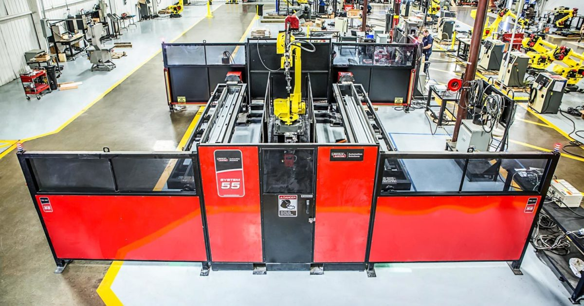 RobotWorx - FANUC Lincoln Electric System 55
