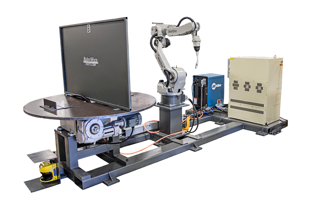 RobotWorx RW950 Low Cost Robotic Workcell